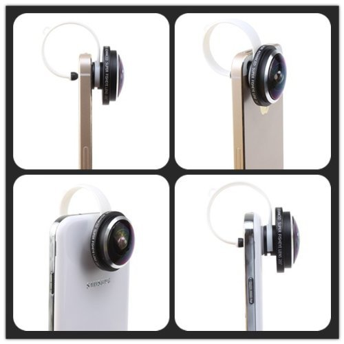 Free shipping(1 pc) New arrive! Universal High quality 235 degree Super Fish eye lens/Fisheye lenses for iPhone/Samsung/HTC/LG(China (Mainland))