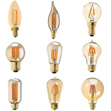 Buy Dimmable,Vintage LED Filament Bulb,Golden Tint,C35 C32T A19 T45 ST45 ST64 G40 G95 G125,Retro lamp,110V-130V 220V-240V AC for $3.60 in AliExpress store
