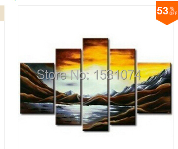 High-quality 100% hand-painted modern cheap room decoration classical sea oil painting(China (Mainland))