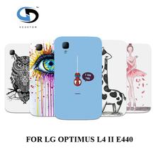 Popular Cartoon Hybrid Design Plastic Phone Back Cover LG Optimus L4 II E440 E445 Case,Hard Skin Shell - casestore store