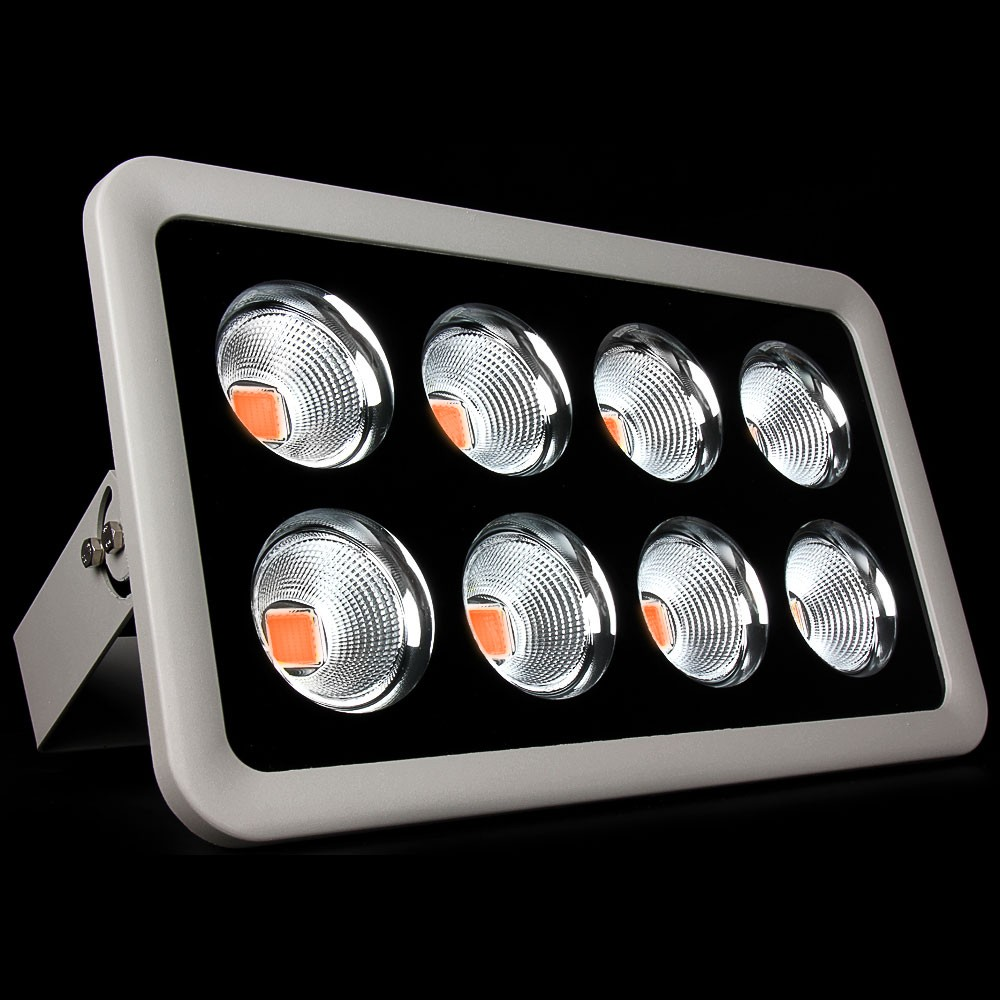 400 W LED Vollspektrum Fluter 380-840nm Grow-Light-Lampe floodlight outdoor