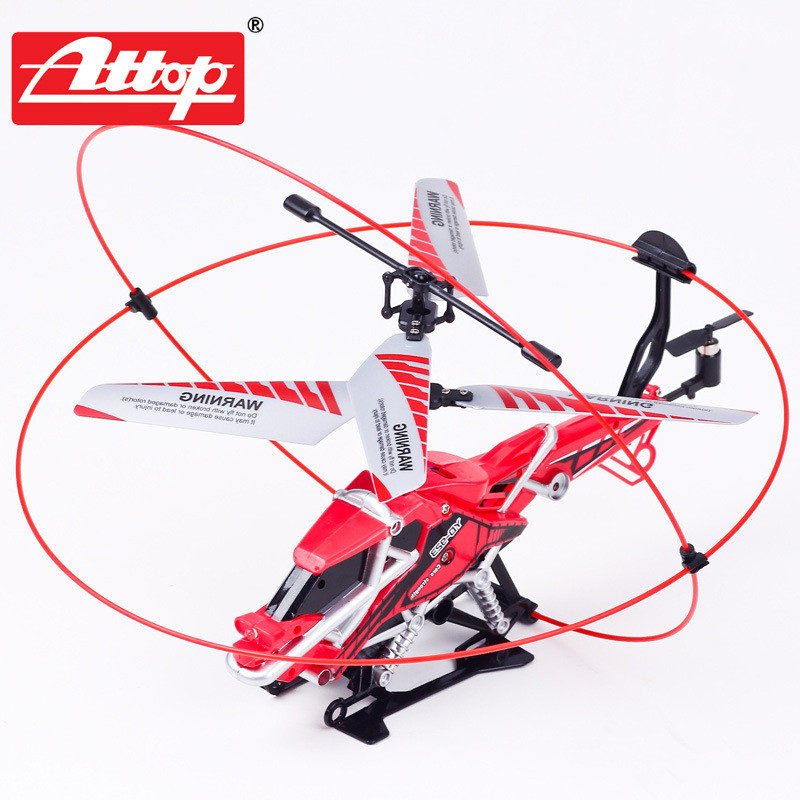 New Arrival Attop YD923 3CH Rc Helicoper Remote Control Toy With Gyro RTF(China (Mainland))