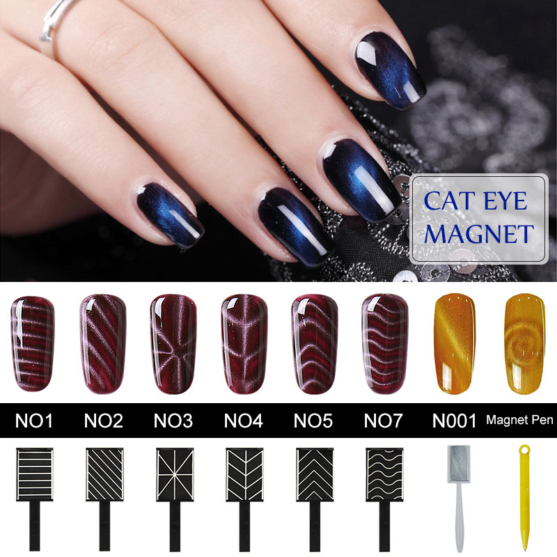 Belen Cat Eye Gel Polish Magnet Stick Sticks Manicure UV Nail Gel Polish Nail Art Magnet Sticker Nail Magnet For Nail Polish(China (Mainland))