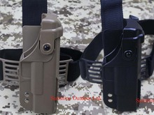 Tactical GLOCK Holster with Top Rail leg Holster for GLOCK G17 G18-Free Shipping