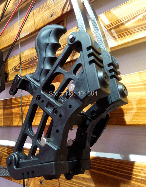 a hunting archery triangle compound bow 50lbs adult shooting compound bow LH RH