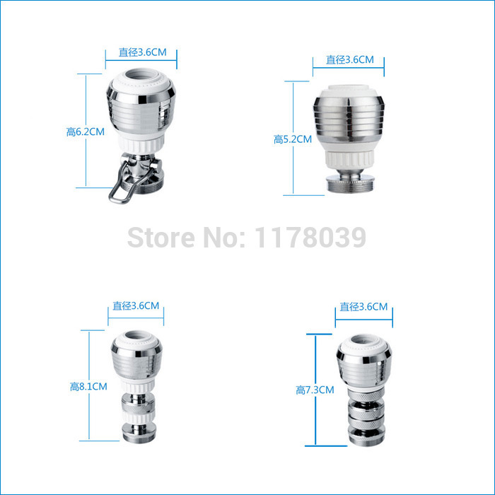 tap aerator for water,water saving aerators,Universal bubbler tube kitchen faucet filter mouth,Free Shipping J14827(China (Mainland))