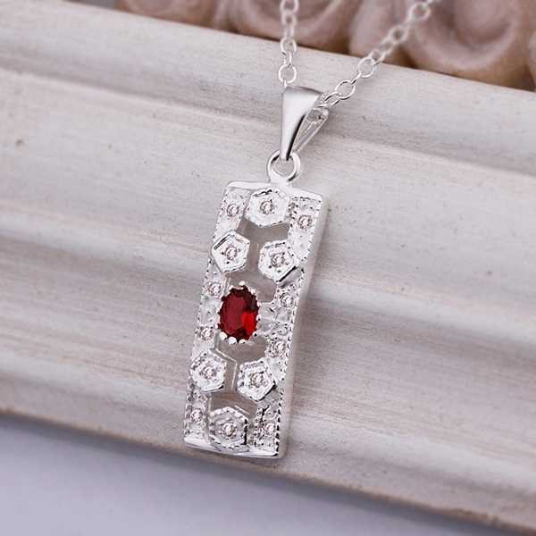best friends silver plated pendant necklace Long Square Flower perfume women Jewelry European Style SMTN458(China (Mainland))
