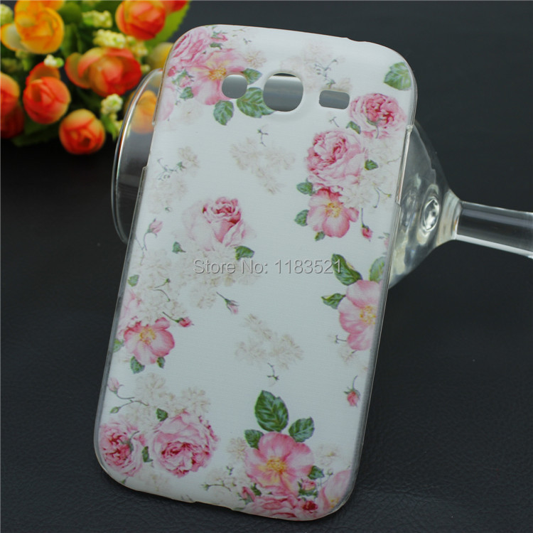 Grand i9082 case 2015 new Cinderella pattern hard pc case for samsung galaxy Grand Duos 9082 & Neo I9060 9060 back case(China (Mainland))