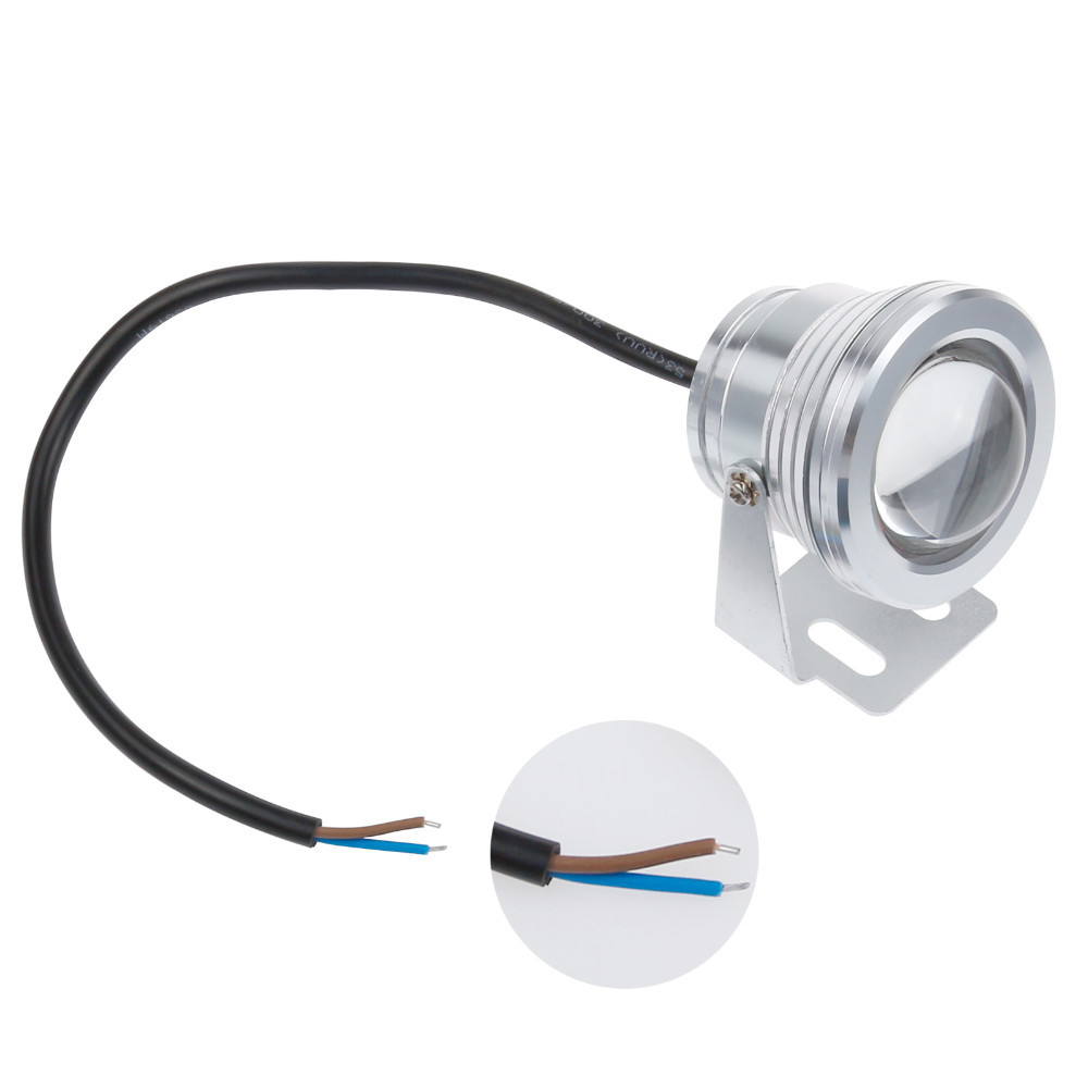 RGB LED Submersible Underwater Fountain Light for Pool Pond Aquarium 16 Colors Changing