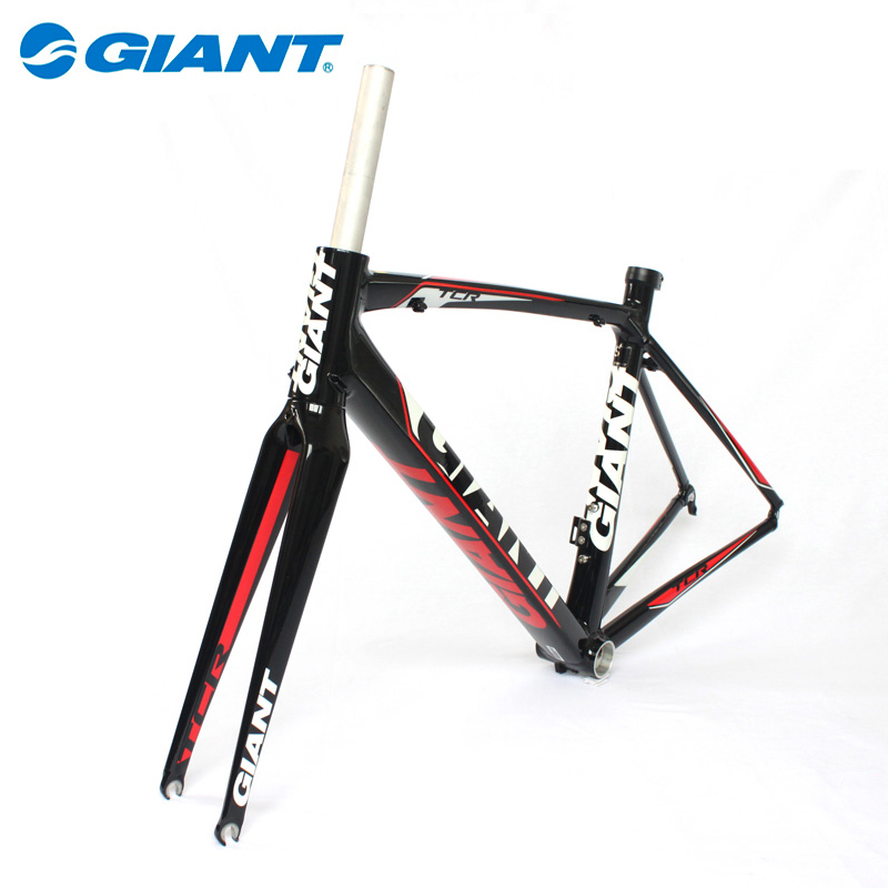 GIANT Brand TCR Road Bike ALUXX SL Ultralight Frame+Seatpost+Fork set parts bicicleta mtb Carbon Fork 465mm(S)/ 500mm(M),3Colors(China (Mainland))