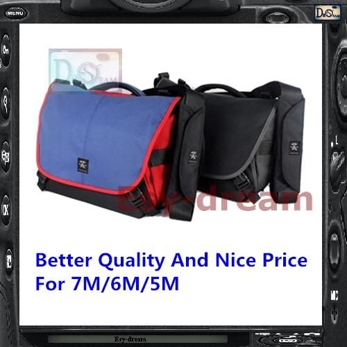 Latset New Crumpler 7M 7 Million Dollar Home Camera Shoulder Bag For A7 X-T1 EM1 D800s 70D 7DII 6D D610 D7100(China (Mainland))