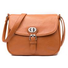 мода женские сумки посыльного дамы небольшой плеча сумочку пу кожаные сумки случайные мешочек 5colours Bolsas