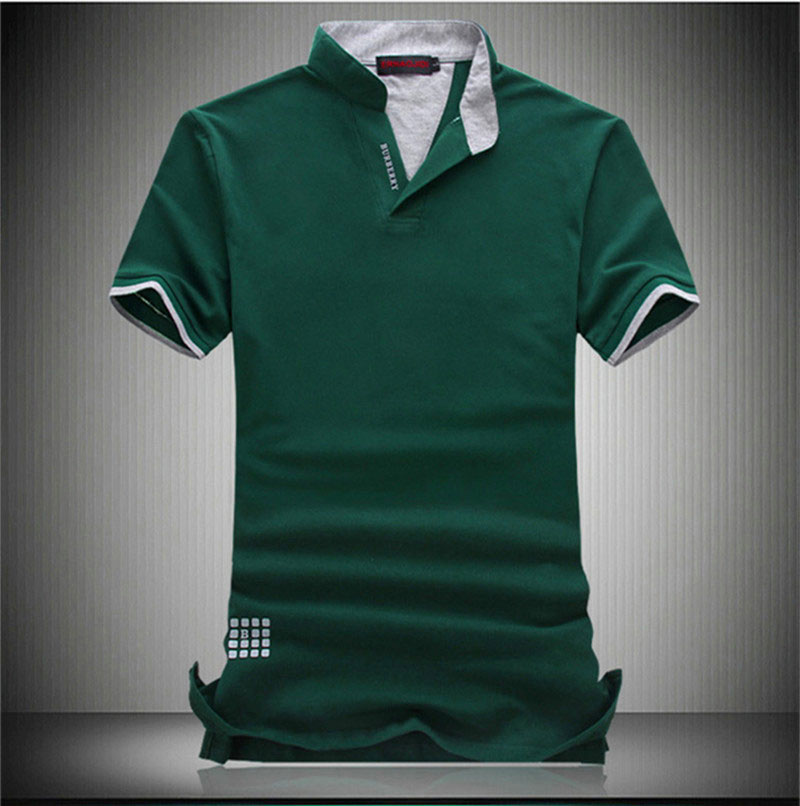 men's hemp shirts summer new large size M-6XL t shirt men cotton cloth printing drilling hot V-neck T-shirt dota t-shirt - LiXia Yu store