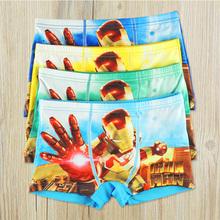 2016 Boys Underwear Boxer Children Kids Briefs Panties For Baby Boys Children Clothes 4Pcs/Lot