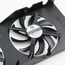 Buy 10 pcs/lot radiator computer cooler DC BRUSHLESS FAN Radeon R9 280X royalKing CLUB 3D video VGA Graphics Card cooling for $81.77 in AliExpress store