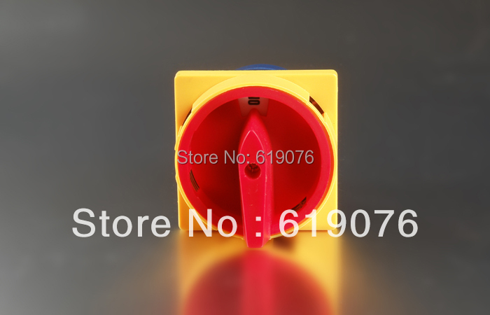 25A 440V  2Postions NO/OFF LW26GS-25  Changeover Control Rotary Cam  Combination  Switch<br><br>Aliexpress