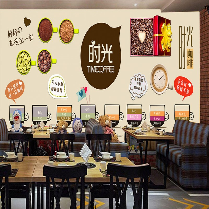 for Mural untuk cafe