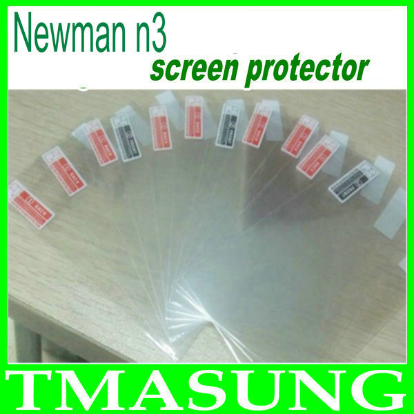 2014 free shipping High Quality transparent screen Protector guard Screen film For Newman N3 Phone 2pcs/lot(China (Mainland))