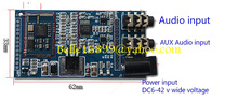 Free shipping Origianl new CSR8645 APT-X Bluetooth 4.0 Audio Receiver Board Wireless Stereo Music Module AUX(China (Mainland))