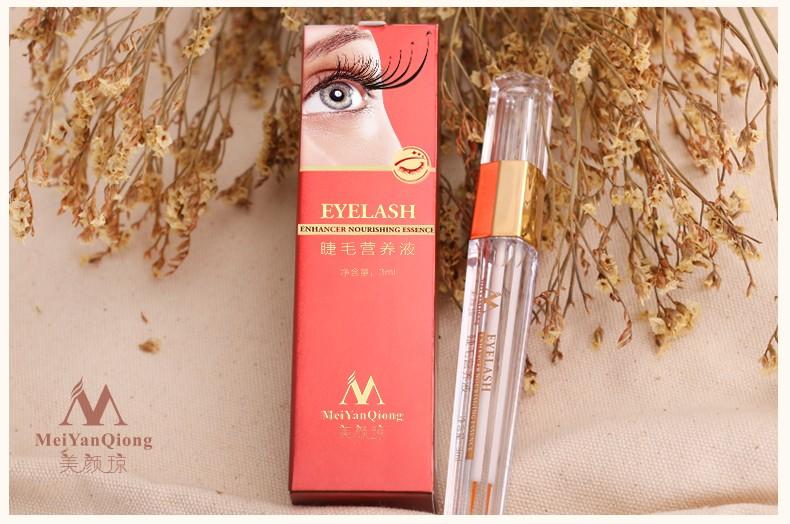 Tratamentos de Crescimento Dos Cílios Líquido de ervas Poderosas Maquiagem Chicote Do Olho Mais Grosso Melhor do que a Extensão Dos Cílios Soro Potenciador