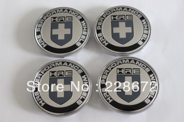 68MM HRE Emblem Wheel Center Cap Sticker Cover Hub Caps - SIXTH POWER store