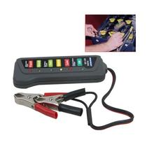 New 12 Volt LED Battery and Alternator Tester For Cars and Trucks(China (Mainland))