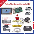 Raspberry Pi 3 Model B 32GB RetroPie Game Kit with 7 Inch 1024 600 Touch Screen