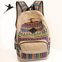 New 2015 Canvas Women Backpacks School Bags for Teenagers Girls Bolsas Mochilas Escolares Femininas Rucksacks H614(China (Mainland))