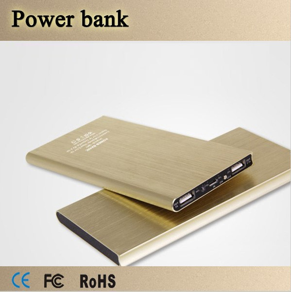 Ultra Slim Power Bank 20000mah Portable External Mobile Phone Chargers Backup Powerbank for iphone Samgsung LG HTC Smart Phone(China (Mainland))