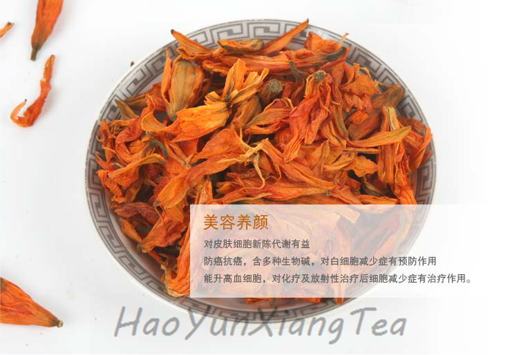 FREE SHIPPING 500g greenish lily flower ,chinese medicine Herb Spice Tea,slimming herb tea,relieve stomach pains(China (Mainland))
