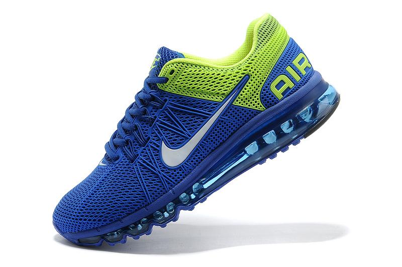 reputable site a57f7 0332a nike air max 2014 running shoes blue green orange