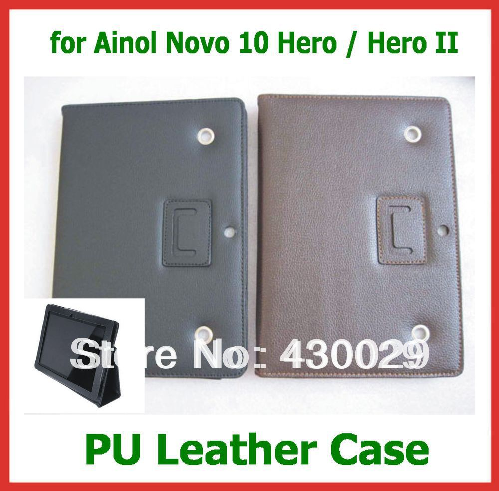 Drop Shipping 10.1 inch Original Leather Case for Ainol Novo 10 Hero / Hero II Quad Core Tablet PC Free Shipping<br><br>Aliexpress