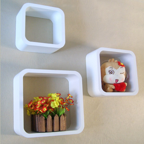 3 Piece /One Set Wall Frames Quadros De Parede Diaphragn Circle Shelf Wall Shelf Decoration For Photo Prateleiras De Parede(China (Mainland))