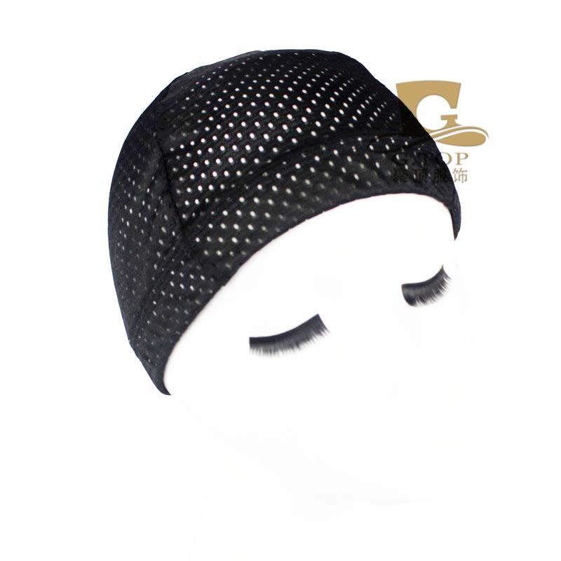 Unisex mesh Dome cap Flexible Breathable Ultra Stretchable Bandanas Cap Turban Cap Sports Beanie Skull sleep Hat(China (Mainland))