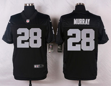 Oakland Raiders #89 Amari Cooper #75 Howie Long #52 Khalil Mack Elite White and Black Team Color high-quality free shipping(China (Mainland))