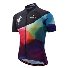 Buy MILOTO Bike Team Pro Cycling Jersey Ropa Ciclismo 2017 mtb Bicycle Cycling Clothing Summer Bike Jersey Shirt Maillot Ciclismo for $13.58 in AliExpress store