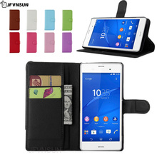 Buy JFVNSUN Case Sony Xperia M4 Aqua dual Fashion Card Holder Leather Wallet Stand Phone Bag Flip Cover Sony Xperia M4 Aqua for $3.32 in AliExpress store
