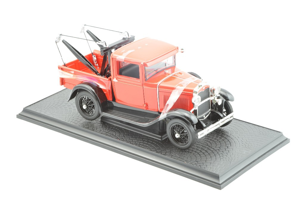 Free shipping 1:18 scale - Ford Model A Tow Truck Baujahr 1931 rot 1:18 Signature Models RED(China (Mainland))