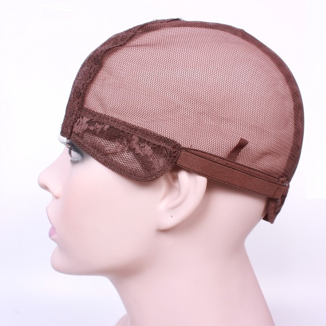 Крышка парик для производства париков с регулируемым ремешком на спине ткачество ...