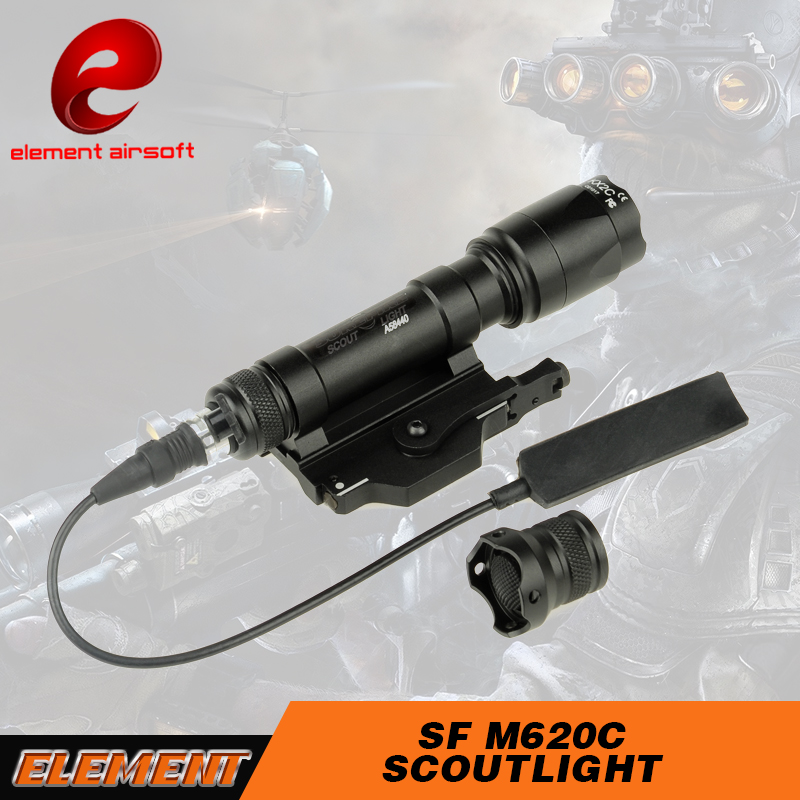 Airsoft Element SF M620C Scout Light LED Led Handheld Spotlight For Hunting LED Scope EX346(China (Mainland))