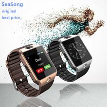 DZ09 Smart Watch for Apple Android Phone Support SIM TF Reloj Inteligente Smartwatch PK GT08 U8 Wearable Smart Electronics Stock(China (Mainland))