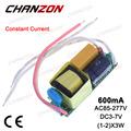 Constant Current LED Driver 600mA 3W 6W DC 3 7V 600 mA AC85 265V AC DC