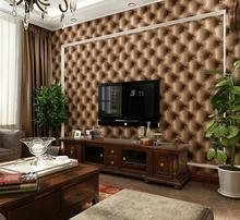 3D stereoscopic soft grain leather bag wallpaper TV backdrop wallpaper bedside storefront background(China (Mainland))