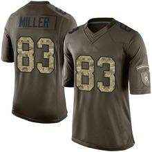 Men's #83 Heath Miller Elite Green Salute to Service Football Jersey 100% Stitched(China (Mainland))