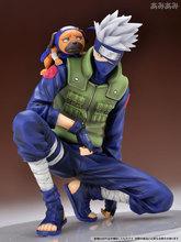 2016 New Megahouse GEM Anime Japanese PVC Cartoon 20cm Naruto Cute Action Figure Toy Set Figurines PVC Kids Toys Free Shipping