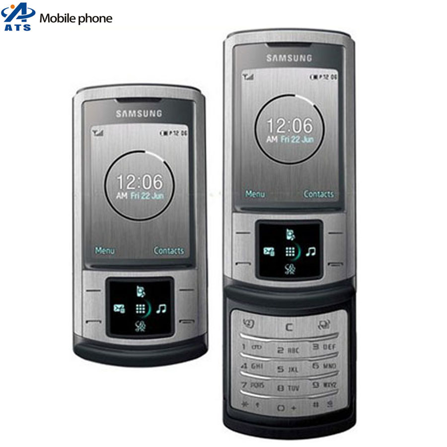 Original Samsung U900 Mobile Phone 3G bluetooth mp3 player 5MP Cemera Free Shipping(China (Mainland))