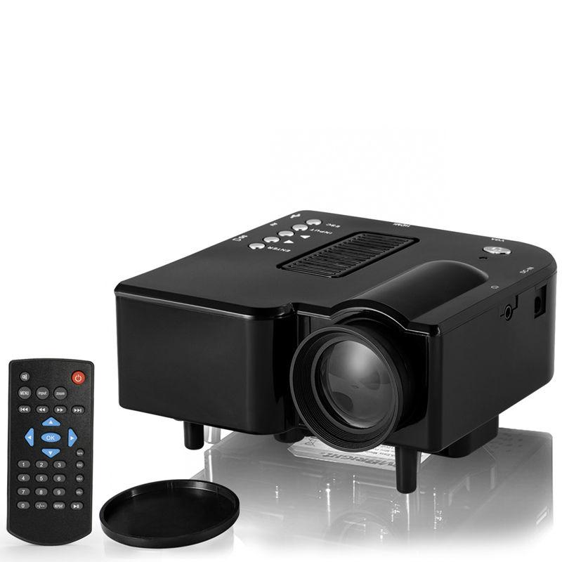 Original gp5s mini projector 100 lumens 320x240dpi 800 x for Mini usb projector review