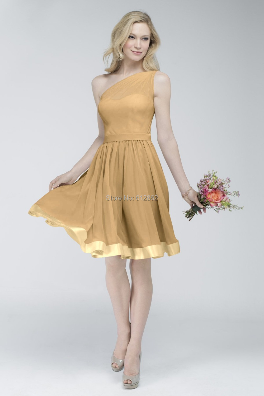 Short Gold Prom Dresses Cheap - Formal Dresses