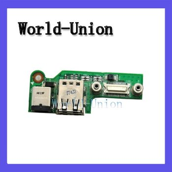 Free shipping DC Power Jack/USB Board 48.4W006.011 for Inspiron 1525