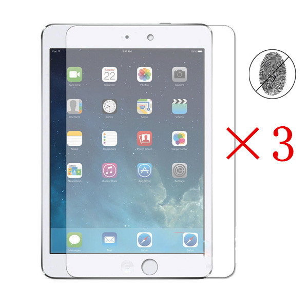 3 Pcs/Lot Anti-Glare Matte High Quality Screen Protector Cover Guard Shield For Apple iPad Air 1 & 2 (9.7 Inch)(China (Mainland))
